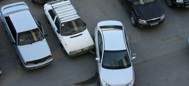 Как нарисовать схему ДТП на парковке
