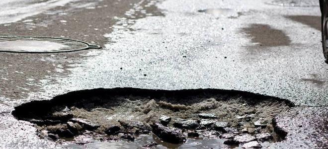Что делать если пробил колесо в яме на дороге